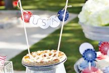 4th of July Party / 4th of July | Fourth of July | Patriotic | Party | Ideas | Printables | Tips | Cake | Cupcakes | Invitation | Decorations | Favors | Games | Food | SIMONEmadeit.com