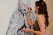 www.MarjanExposeert.nl / Schilderijen, muurschilderingen en creatieve workshops.