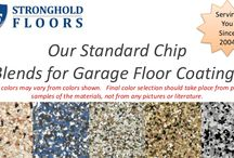 Slideshares by Stronghold Floors / Slide decks showing off some of our color choices, projects and beliefs.