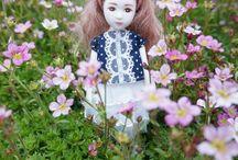 bisque doll / first work