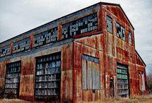 Old industrial buildings