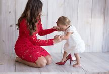 фото с ребёнком в студии