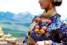 チベット衣装