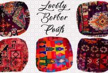 Berber Moroccan pouf