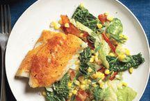 Fish = Tilapia Cod Flouder