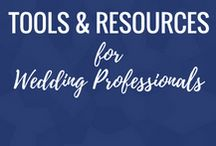 Tools & Resources for Wedding Professionals