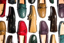Crocodile Collection AW12 CarShoe / The classical driving shoe is clothed with precious materials, styled in a vast assortment of shades and hues of the finest crocodile leathers