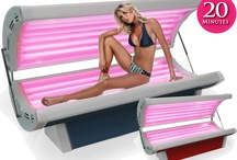 Tanning Beds / The Wolff home tanning beds lineup includes the Wolff tanning bed line. The Wolff line includes 6 tanning bed models and 1 tanning canopy model with a range of features to meet ever need and fit every budget. These premium tanning beds offer the premium plus series features such as heavy-duty extruded steel mainframe, high-tech digital timers, SolarMax IFT and Advanced SolarMax IFT face tanners, remote timer capabilites, and great warranties.