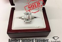 Diamond Sales / Some of the Diamonds that we have sold for our very satisfied customers.  We help people sell unused diamond jewelry of all types: diamond rings, engagement and wedding rings, diamond earrings, diamond bracelets, diamond necklaces & more.  We get our clients the best prices by connecting their diamond jewelry to professional diamond buyers.