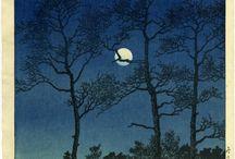 Ukiyo-e of Mine / My Japanese Woodblock Prints