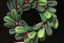 Cernit christmas ornament