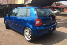 VW polo 2003 blue