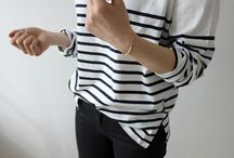 .stripes. / I love anything & everything striped