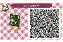 QR code fleur/herbe acnl