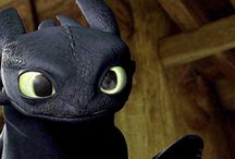 Toothless / How to Train Your Dragon 1-2, Dragons-Riders of Berk etc.
