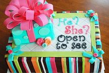 Gender Reveal Baby Shower / Gender Reveal Baby Shower Ideas - he or she, what will it be?