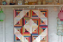 •♥✿♥• Quilting ~ Log Cabin •♥✿♥•