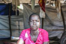 Zuid-Soedan / De crisis in Zuid-Soedan heeft het leven gekost aan duizenden mensen en meer dan een miljoen mensen zijn op de vlucht geslagen.
