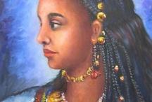 Color People in mediëval Art history