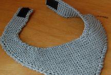 Crocheted baby stuff