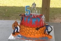 Fantastic four cakes