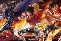 Anime / One Piece Ace-Sabo Luffy-  ASL