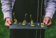 Wedding food ideas / Delicious wedding food ideas