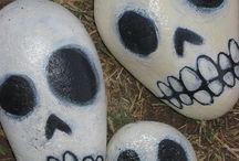 calaveras  de piedra