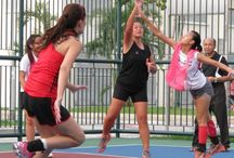 sports / this is about netball,runing and other sports