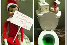 """Elf on the Shelf / Glad this is all over...didn't' realize I had saved them in my secret """"gift"""" board!"""