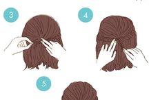 簡単hair