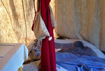 Modern medieval camping / Medieval camping solutions, furniture