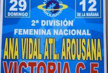 Atlético Arousana Ana Vidal