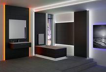 Iluminación LED / En este tablero se muestran propuestas de diseño con iluminación #LED