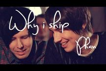 Youtube / my fav youtbers/ships and my otp (phan)