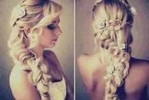 Bec wedding hair