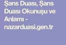 ŞANS  DUASI