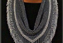 Beading - scarfs