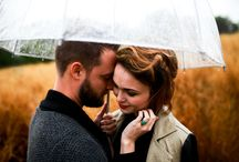 Couple Shoots in the Rain