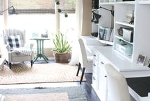 Home Office / Inspiration for a fabulous home office space!