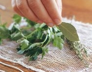 cooking with herbs / by Gayle Lawhorne