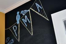 Chalk wall / Chalk art inspirations