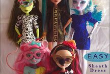 Monster High Doll Clothes and accessories