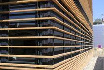 wooden facades