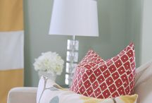 Cojines & telas/Pillows & fabrics
