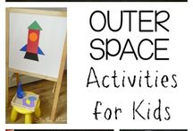 Outer Space Awesome / Outer pace crafts, outer space activities, planet crafts, how to learn planet names, galaxies, rocket ship crafts, rocket ship activities, space games for kids, comets, stars, space dust, Martians, aliens, cute science space activities, and all things awesome outer space for kids!  / by Sugar Aunts