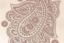 mehendi paisley heena design / орнаменты и рисунки (в том числе пайсли - турецкие огурцы) мехенди (менди, механди), традиционной восточной, в т.ч. индийской росписи хной по телу. их часто путают с зентаглами, или относят к дудлам, но искусство мехенди существует уже столетиями...