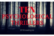 Psychological thrillers for your 2018 TBR pile