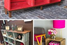Crates diy homes