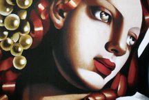 Y07 Portraits - Tamara de Lempicka
